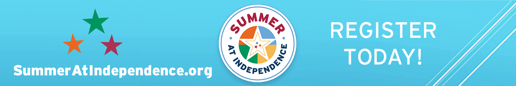 Summer registration logo